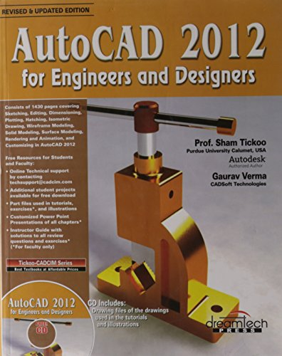 9789350041215: Autocad 2012 For Engineers And Designers