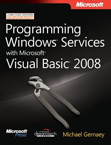 9789350041345: Programming Windows Services with Microsoft Visual Basic 2008