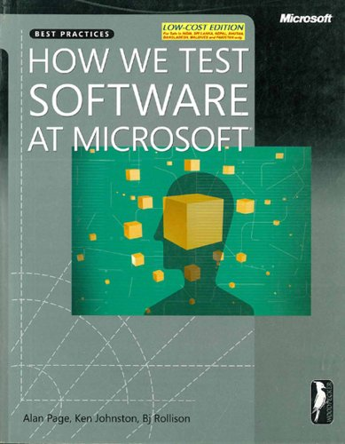 9789350041390: HOW WE TEST SOFTWARE AT MICROSOFT
