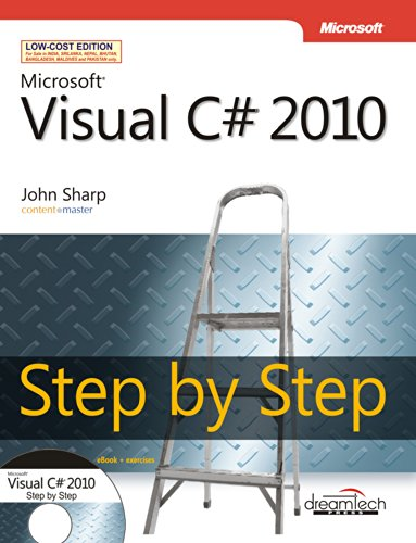 9789350041574: Microsoft Visual C# 2010 Step by Step, w/cd