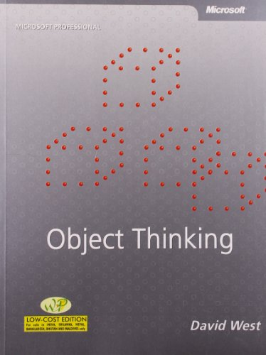 9789350041697: Object Thinking