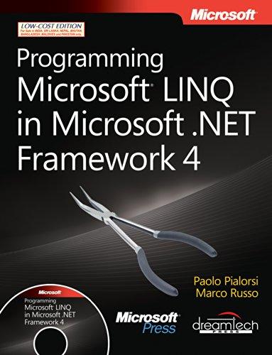 9789350041840: PROGRAMMING MICROSOFT LINQ IN MICROSOFT.NET FRAMEWORK 4