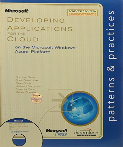 9789350041888: Developing Applications for the Cloud on the Microsoft Windows Azure Platform