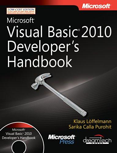 9789350041901: Microsoft Visual Basic 2010 Developer's Handbook