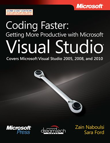 9789350041925: Coding Faster: Getting More Productive with Microsoft Visual Studio