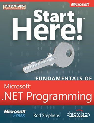 9789350042007: Start Here!: Fundamentals of Microsoft .NET Programming