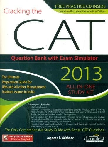 Cracking the CAT All-In-One Study Kit, Volume 2: Jagdeep I. Vaishnav
