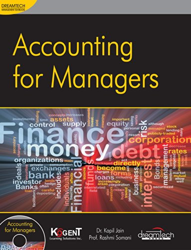 Accounting For Managers: Dr. Kapil Jain,