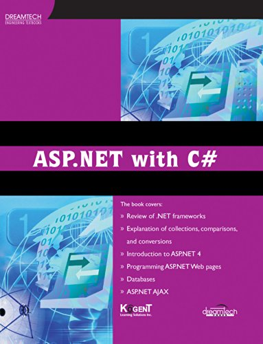 ASP.NET With C#: Kogent Learning Solutions