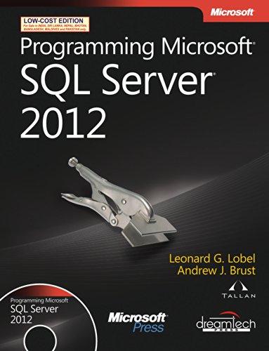9789350045886: [(Programming Microsoft SQL Server 2012 )] [Author: Leonard Lobel] [Aug-2012]