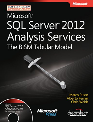 9789350045916: Microsoft SQL Server 2012 Analysis Services: The BISM Tabular Model, w/cd