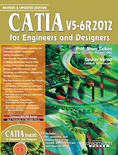 9789350046739: CATIA V5-6R2012 FOR ENGINEERS AND DESIGNERS