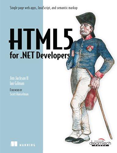 9789350046753: HTML5 For .NET Developers