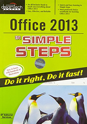 9789350049976: Office 2013 in Simple Steps