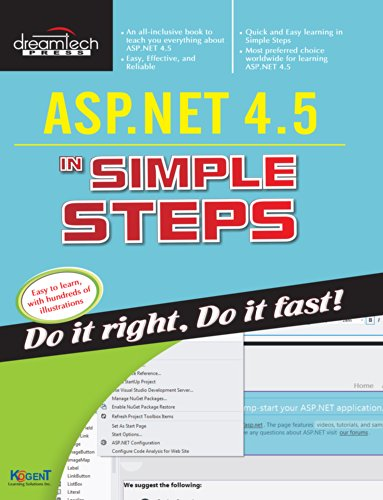 ASP.NET 4.5 In Simple Steps: Kogent Learning Solutions