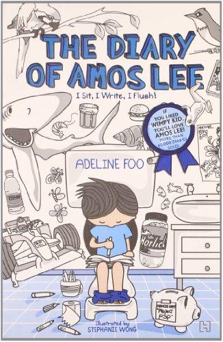 9789350092958: The Diary of Amos Lee: I Sit, I write, I Flush Adeline Foo, illustrated by Stephanie Wong