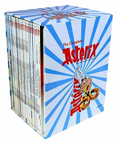 9789350099827: Asterix Comic Books Collection (Graphic Novels) - A Set of 35 Titles