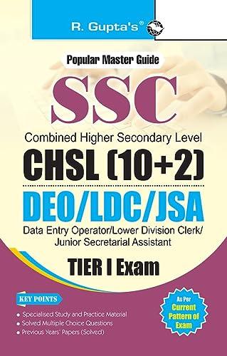 SSC (10+2): Postal Assistant/Sorting Assistants, DEO & LDC Recruitment Exam Guide (Small ...