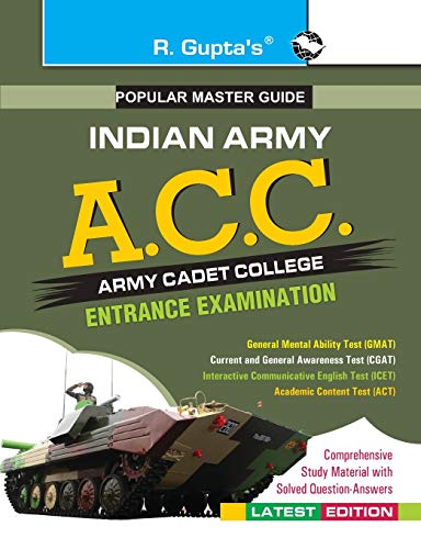 9789350120378: Army Cadet College (Acc) Exam Guide