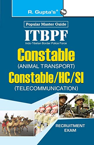 ITBPF-Constable (Animal Transport)/Constable, Head Constable, Sub-Inspector (Telecommunication...