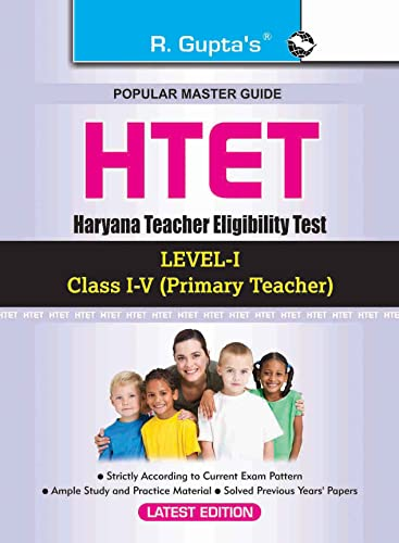 Haryana Teacher Eligibility Test: Paper-I Exam Guide: RPH Editorial Board