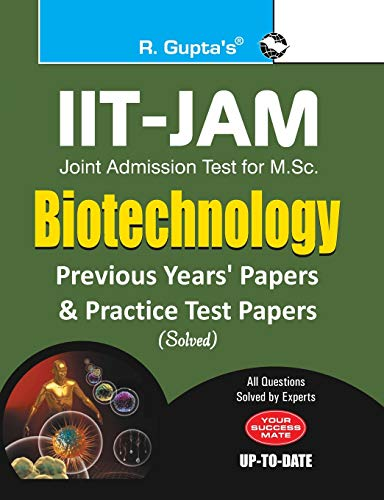 IIT-JAM M.Sc. (Biotechnology) Previous Papers (Solved)