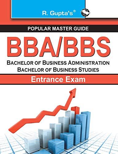 9789350123089: 'BBA/BBS Entrance Exam Guide (Popular Master Guide