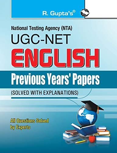 CBSE-UGC-NET: English (Previous Papers Solved): RPH Editorial Board
