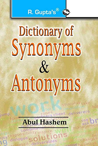 Dictionary of Synonyms & Antonyms: Abul Hashem