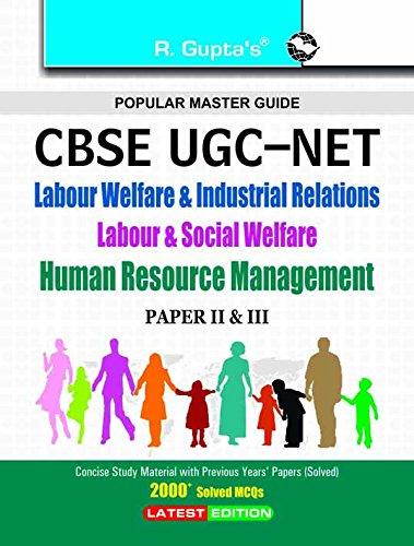 Cbse - Ugc - Net/Set: Labour Welfare: Sivakumar, Bhuvaneshwari