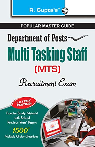 Department of Posts-Multi Tasking Staff (MTS) Recruitment Exam Guide: RPH Editorial Board