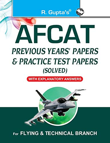 9789350124451: Afcat (Air Force Common Admission Test): Previous Years Papers & Practice Test Papers (Solved)
