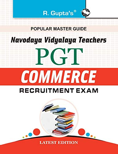 Navodaya Vidyalaya: PGT (Commerce) Recruitment Exam Guide: RPH Editorial Board