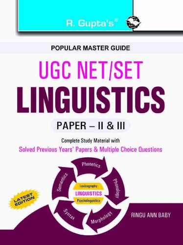 UGC-NET/SET Linguistics Guide (Paper II & III): Ringu Ann Baby