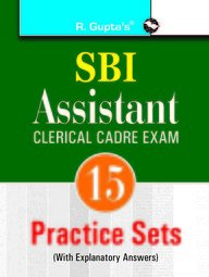 SBI: Assistants (Clerical Cadre): Practice Papers: RPH Editorial Board