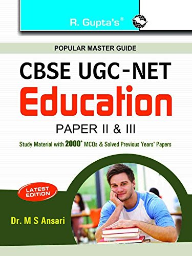CBSE UGC-NET/SET: Education (Paper II & III) JRF and Assistant Professor Exam Guide: Dr. ...