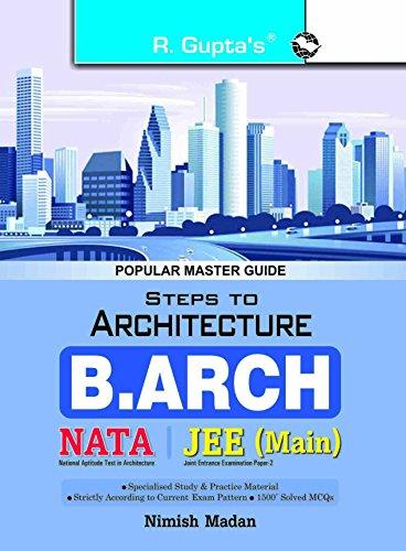 Steps to Architecture (NATA) B. Arch Entrance Exam Guide: NIMISH MADAN