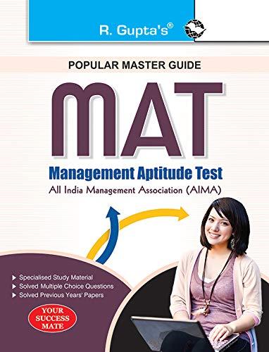 MAT (Management Aptitude Test) Entrance Exam Guide: RPH Editorial Board