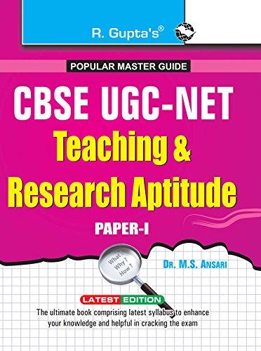UGC-NET/SET (Paper-I) JRF and Assistant Professor Exam: Dr. M S