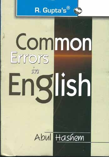 Common Errors In English: Abul Hashem