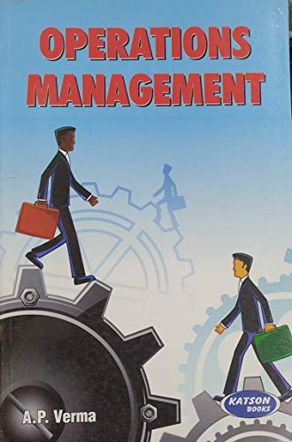 Operations Management: A.P. Verma