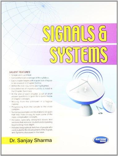 Signal & Systems: Dr. Sanjay Sharma