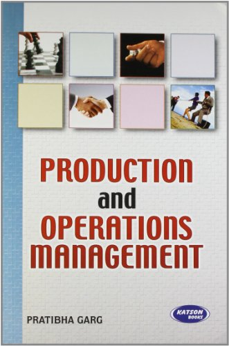Production and Operations Management: Dr Pratibha Garg