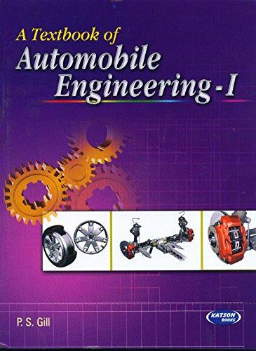 9789350140413: Automobile Engineering (volume – 1)
