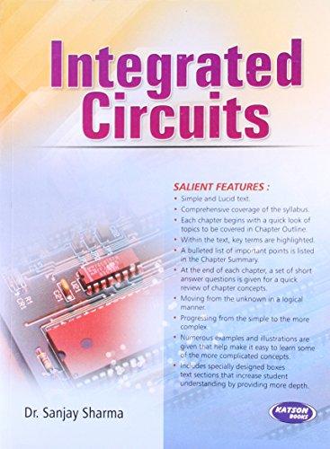 Integrated Circuits: Dr. Sanjay Sharma