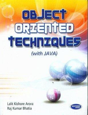 Object Oriented Techniques Java: Lalit Arora