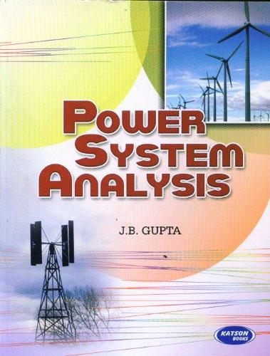 Power System Analysis: J.B Gupta