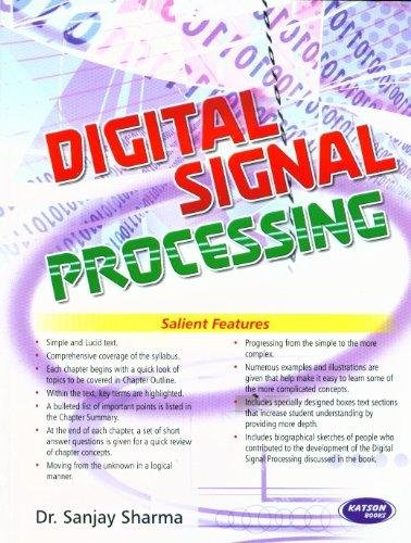 Digital Signal Processing: Dr. Sanjay Sharma