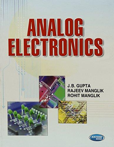 Analog Electronics - II: J.B.Gupta & Rajeev