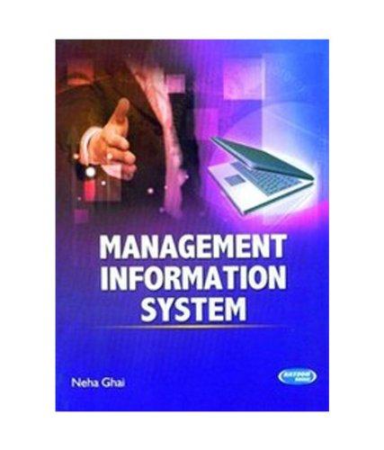 Management Information System: Neha Ghai